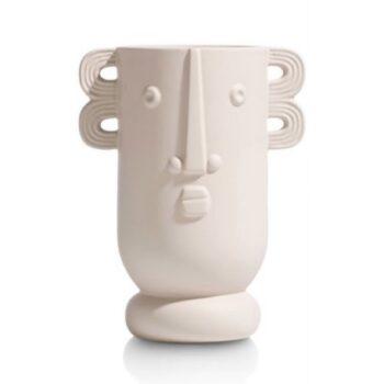 Productafbeelding Vaas gezicht crème