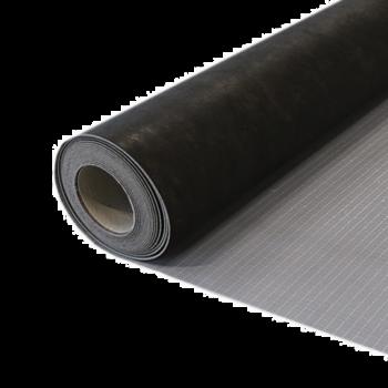 Productfoto zelfklevende ondervloer PVC dryback